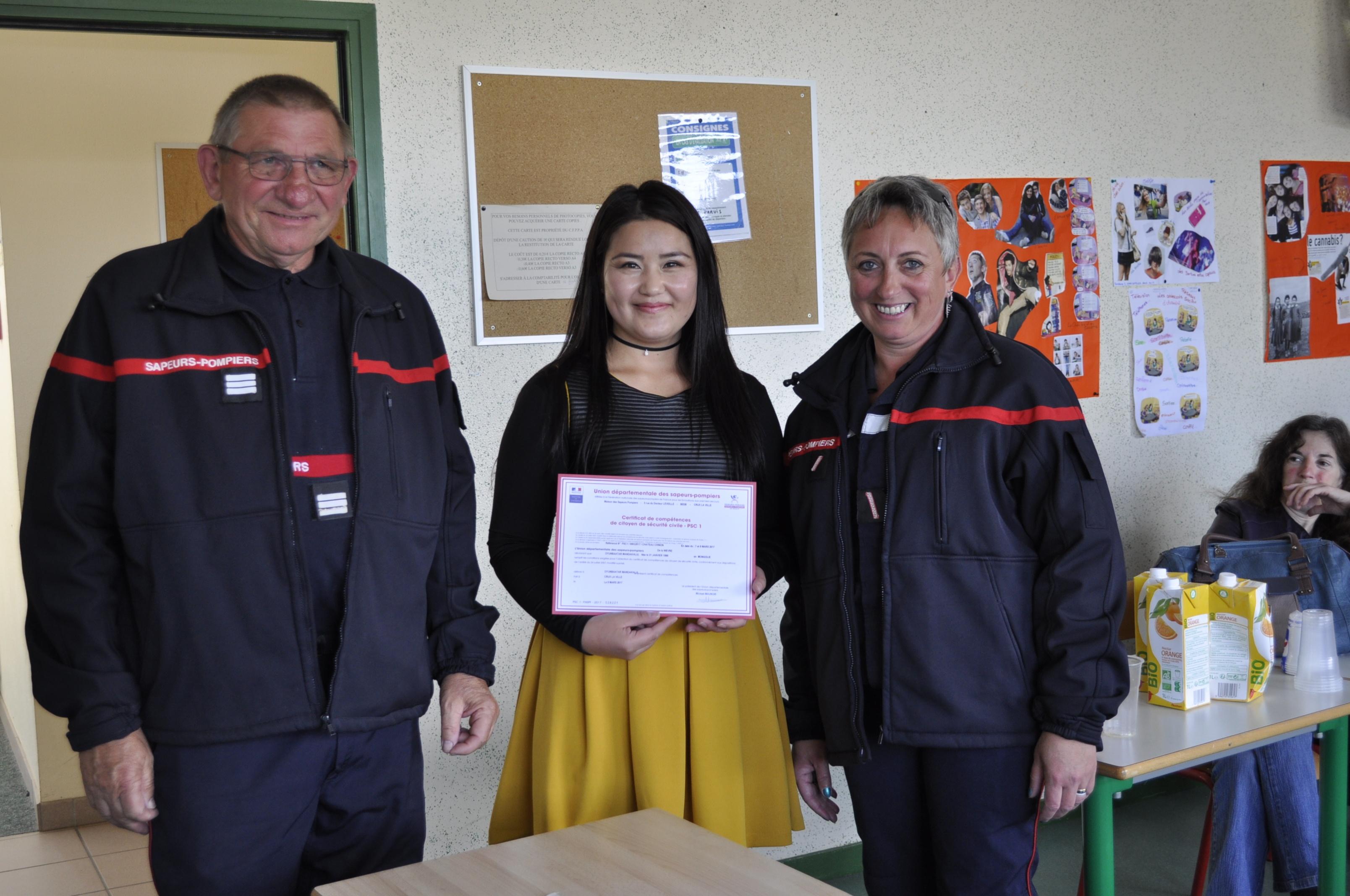 Sauveteur Secouriste du travail - CFPPA du Morvan - Bourgogne - Morvan - orientation - insertion - emploi